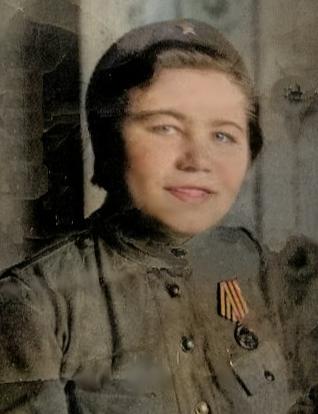 Торопова (Кудряшова) Анна Дмитриевна