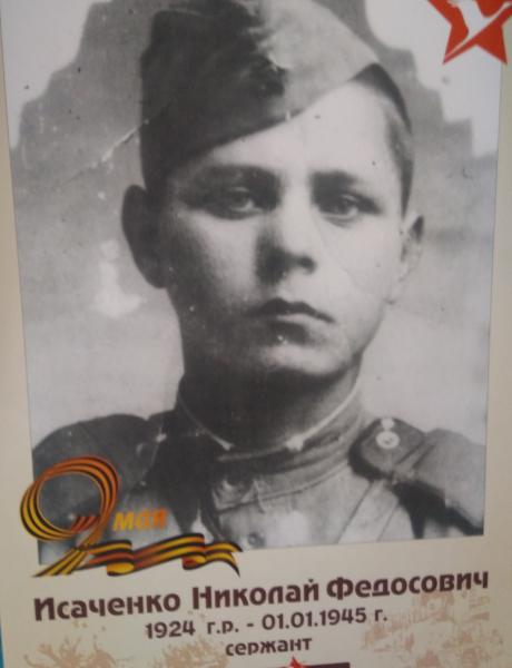 Исаченко Николай Федосович