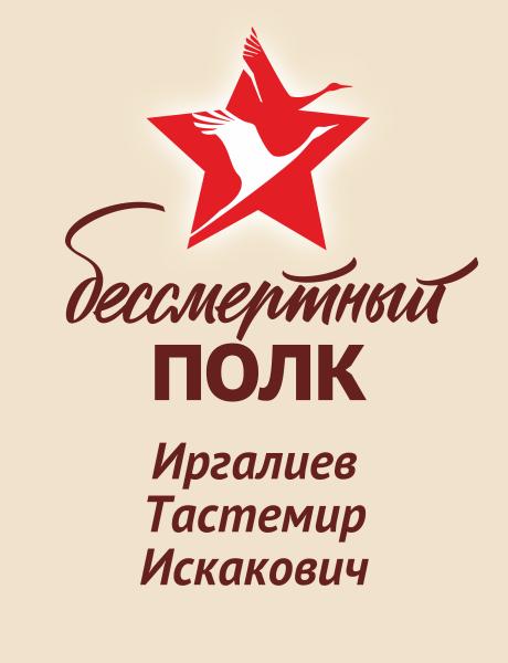 Иргалиев Тастемир Искакович