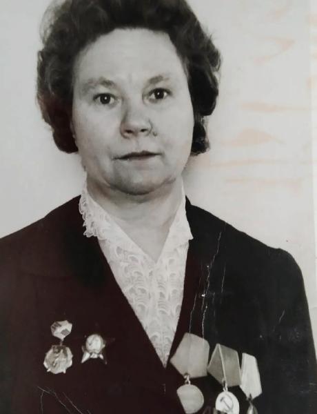 Гагулина Александра Тимофеевна