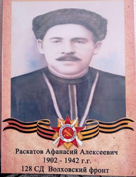Раскатов Афанасий Алексеевич