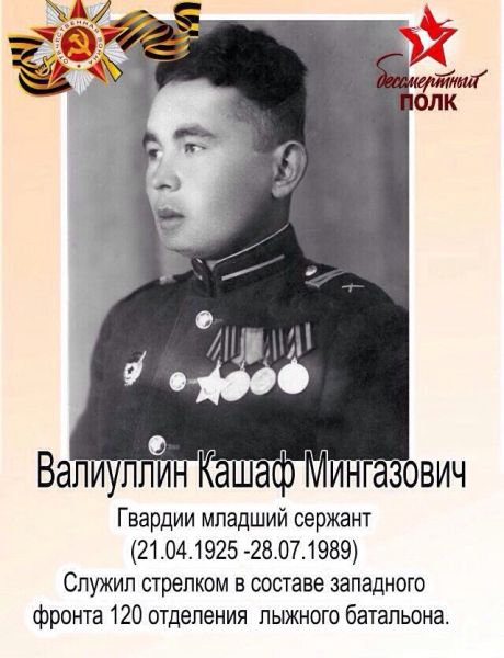 Валиуллин Кашаф Мингазович