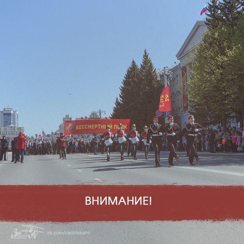 """В Кургане начал работу штаб """"Бессмертного полка""""."""