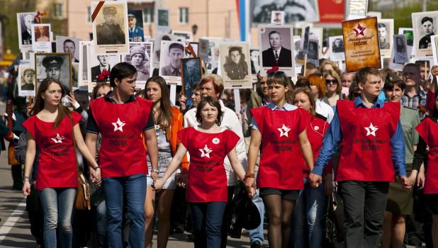 """Набор в команду волонтеров шествия """"Бессмертного Полка"""" в Ярославле 9 мая 2019"""