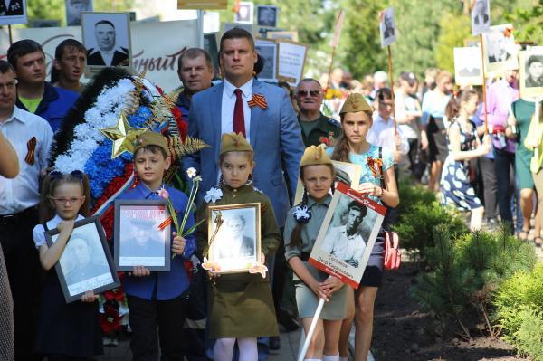 """""""Бессмертный полк"""" в Воловском районе"""