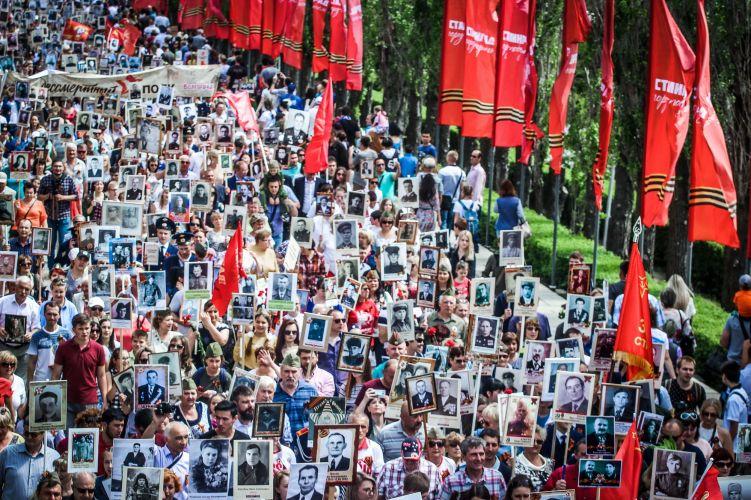 9 мая 2019 года вновь пройдет Бессмертный полк в Волгограде