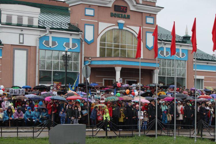 Время и место сбора Бессмертного полка в Рубцовске 9 мая 2019 года