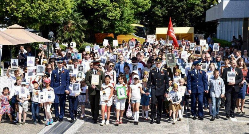 Бессметрный полк в Токио 2018. Фотоотчет.