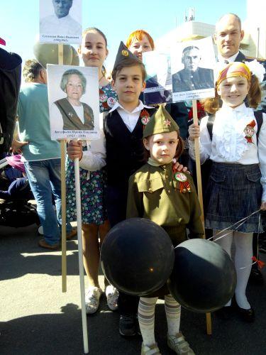 Преемственность поколений. Все военные