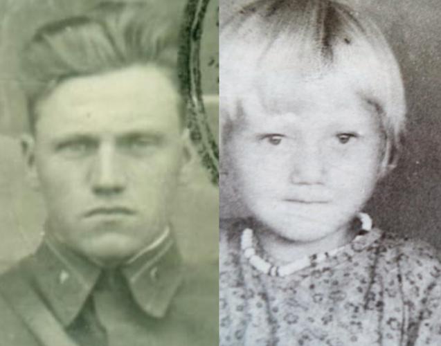 «Мы похожи?»: Дочь солдата впервые увидела фото отца, погибшего в 1945-м