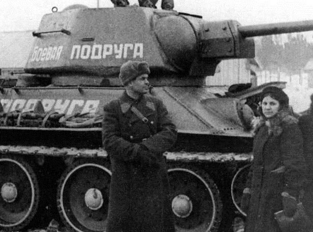 Три танкистки, или Не женское это дело - война