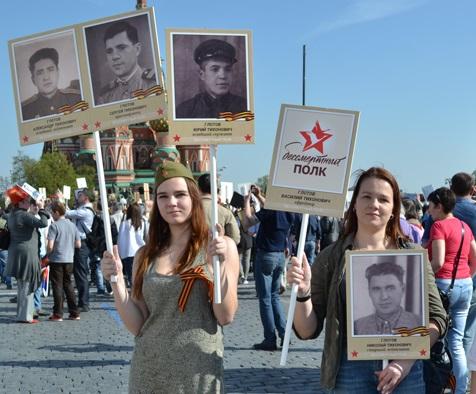 """Вероника Крылова: """"Бессмертный полк"""" стал нашей семейной традицией"""