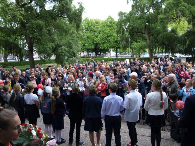 Сообщение для прессы по Бессмертному Полку на 9. мая 2019-го в Ганновере: