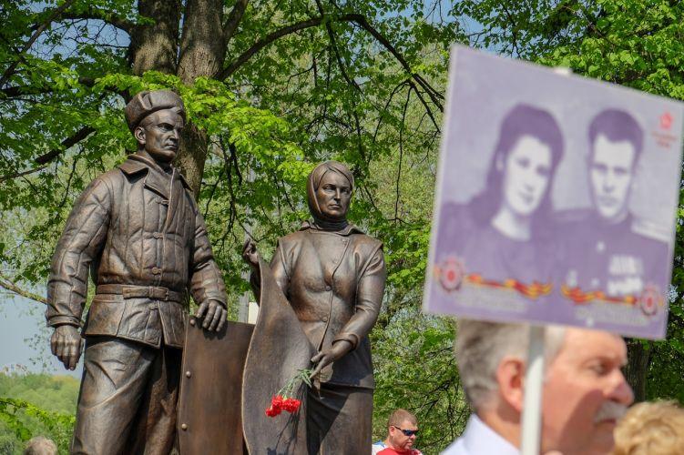 Памятники Героям ВОВ 1941-1945, г. о. Раменское и г. о. Жуковский.