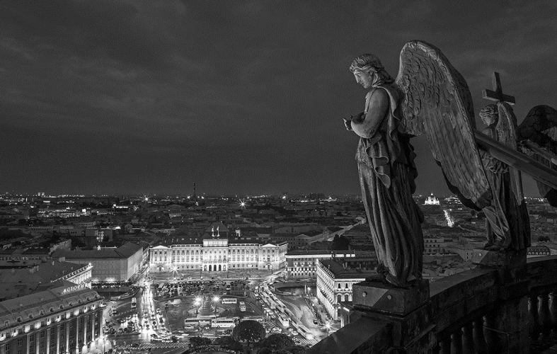 Питерские ангелы. Ко дню освобождения Ленинграда