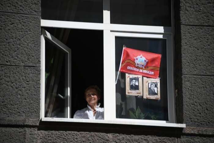БЕССМЕРТНЫЙ ПОЛК-2020  на балконах и в окнах!