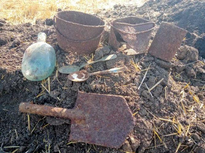 На Кубани в экспедиции «Битва за Кавказ» нашли останки 60 советских воинов