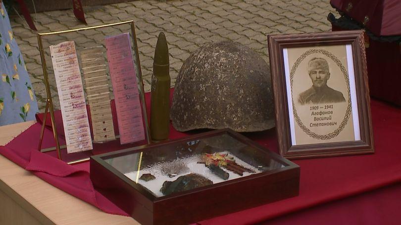Поисковики передали останки красноармейца из Свердловской области родственникам