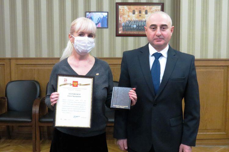 Челябинские координаторы Бессмертного полка награждены памятными медалями