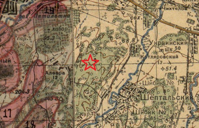 В Крымском районе обнаружен истребитель времен Великой Отечественной войны