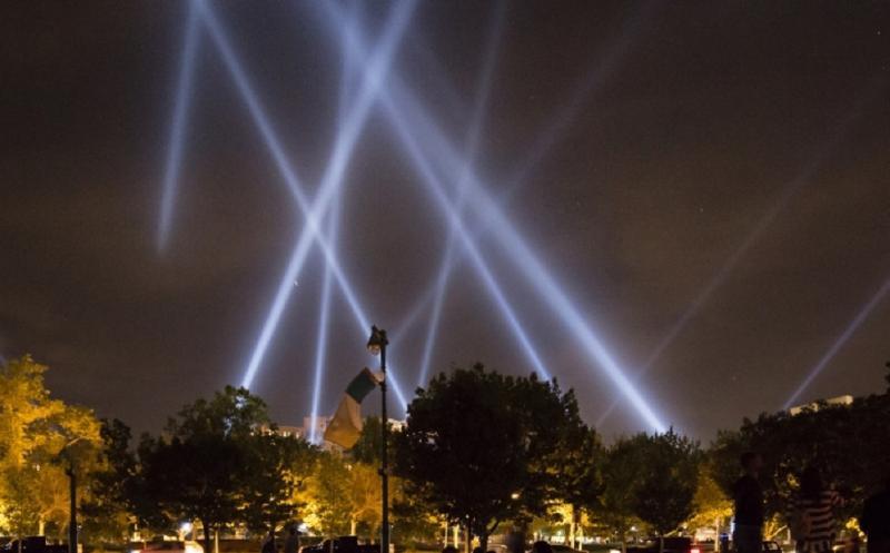 В честь освобождения Ростова 14 февраля небо над городом озарит свет прожекторов