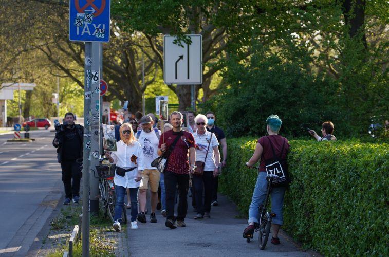Бессмертный Полк прошёл 9-го мая в Ганновере в полной форме