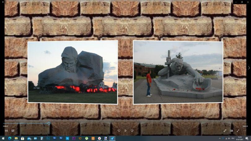 Брестская крепость.(слайд-шоу. фотограф Жумагали Сейтенов) фото 2021.