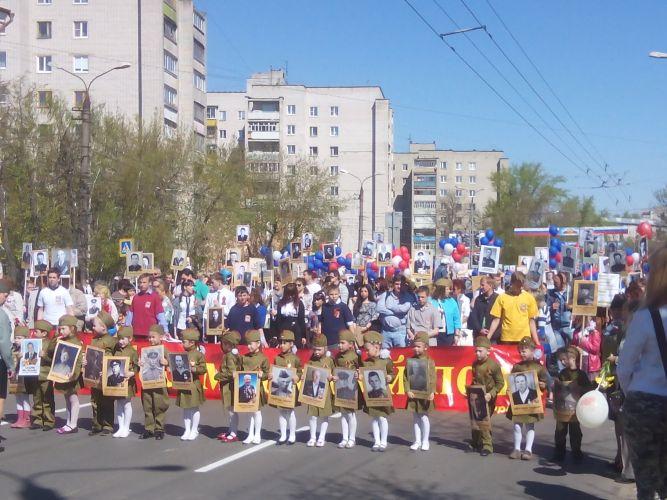 Ковровский Бессмертный полк 9 мая 2015 года