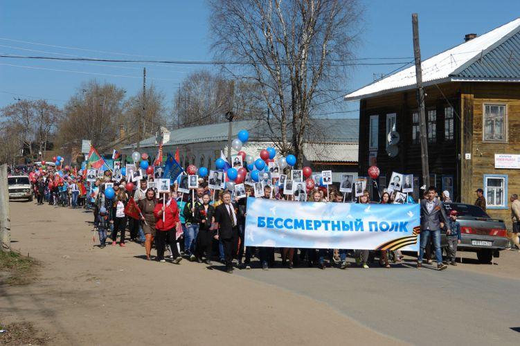 Торжественное шествие Бессмертного полка 9 мая пройдет в городе Луза и поселке Лальск.
