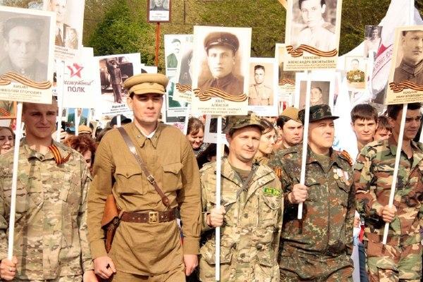 Ростовчане в строю Бессмертного полка пронесут портреты своих Героев.