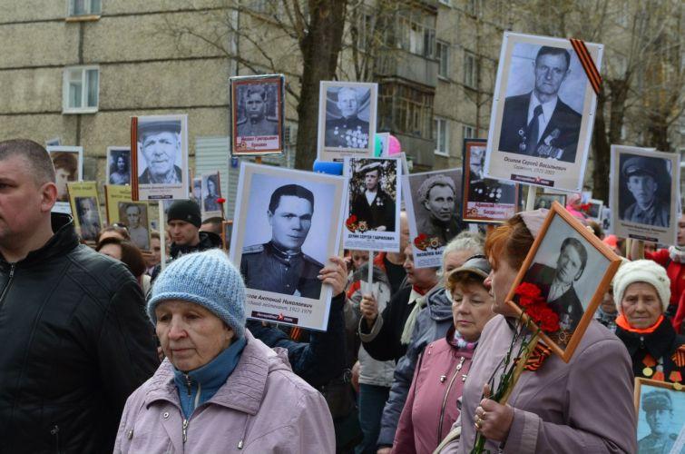 В День Победы по улицам Сыктывкара пройдет «Бессмертный полк»