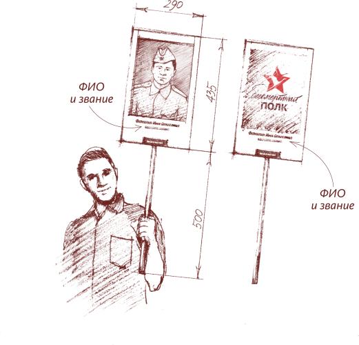 Инструкция по изготовлению штендера