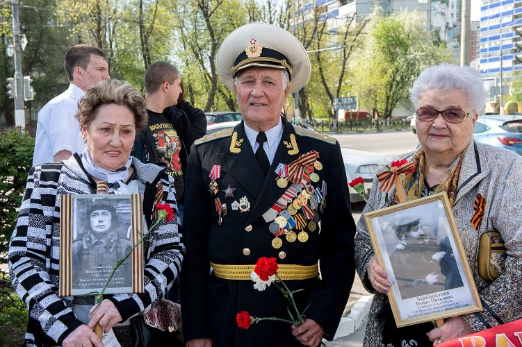 9 Мая в Большом Подольске пройдет торжественное шествие «Бессмертного полка»