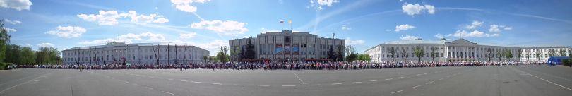 """""""Бессмертный полк"""" в Ярославле 9 мая 2016 года"""