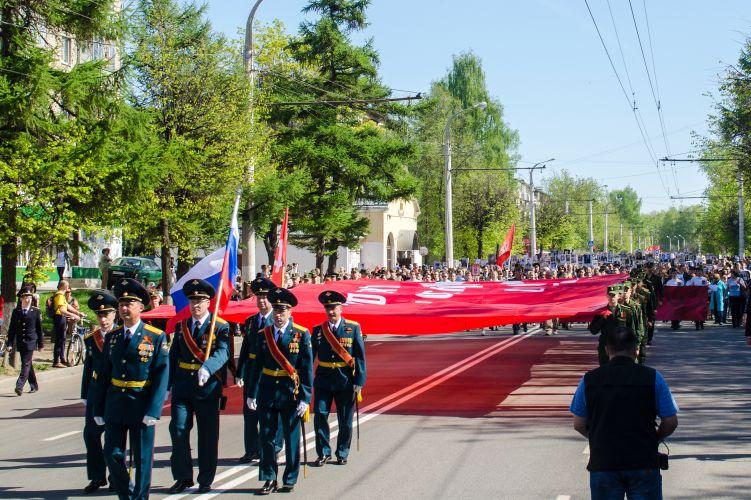 9 мая 2016 года шествие Кострома