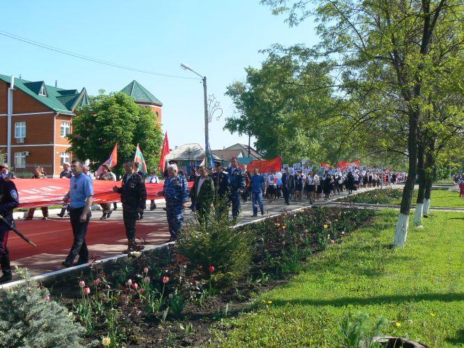 Победное шествие БЕССМЕРТНОГО ПОЛКА в Ровеньском районе