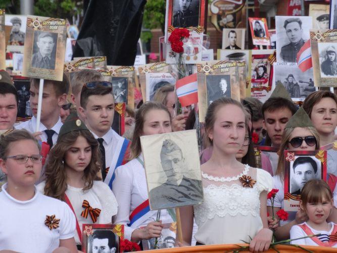 Более 5 тысяч человек приняли участие в шествии «Бессмертного полка» в Орехово-Зуеве