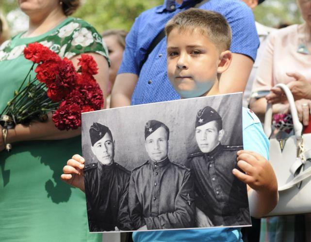 Летчики Красной армии обрели покой на вологодской земле