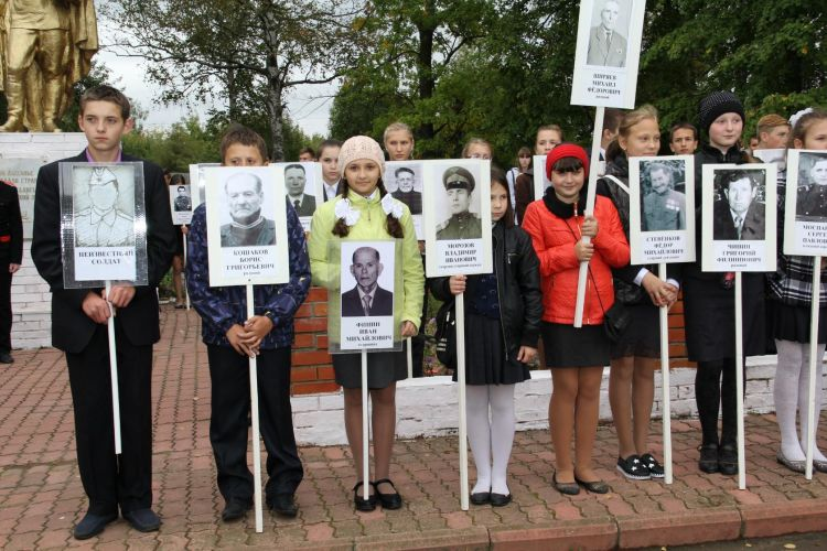 День освобождения Брянщины в Дубровке