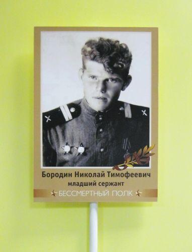 Как и где изготовить портрет героя Великой Отечественной войны для шествия 09.05.2017 года.