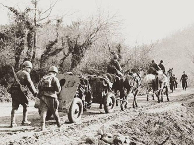 Редкие снимки военного времени.