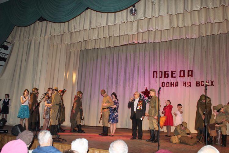 Благотворительный концерт состоялся по инициативе первой школы
