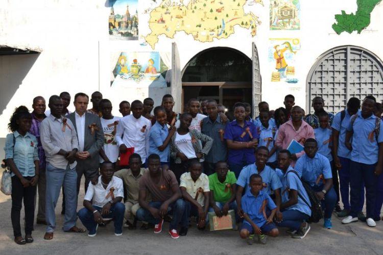 «Бессмертный полк» дошел до Африки