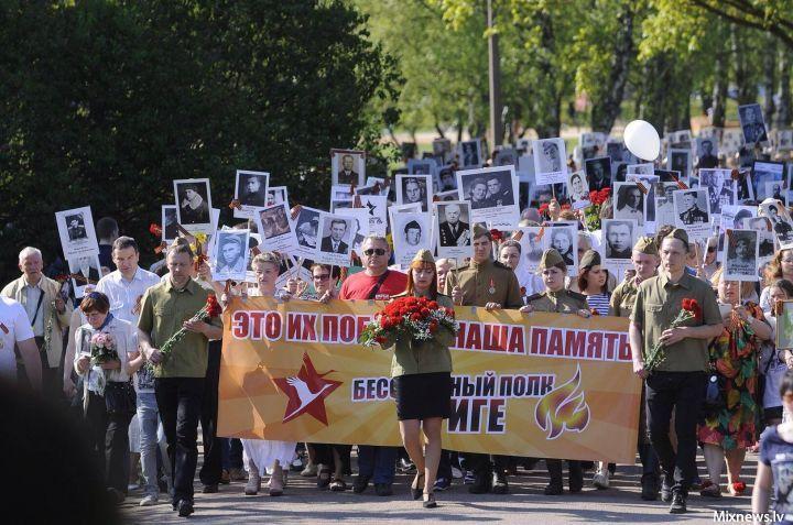 Зарубежье формирует Полки. Латвия