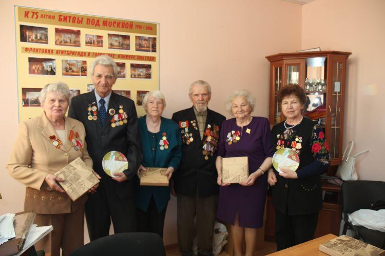 Бессмертный полк поздравляет ветеранов города воинской славы Волоколамск!