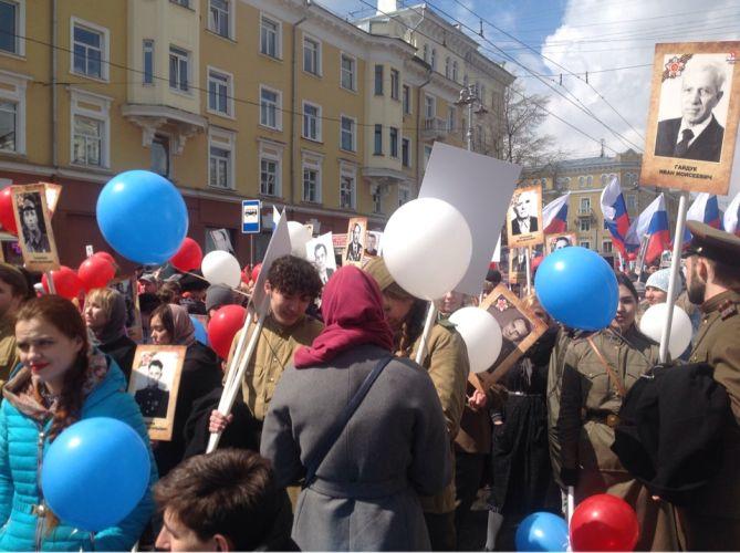 В Кемерове Бессмертный полк собрал более 18 тысяч человек