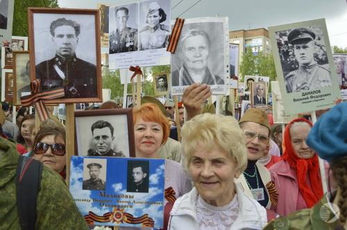«Бессмертный полк» в Пензе собрал около 25 тысяч участников