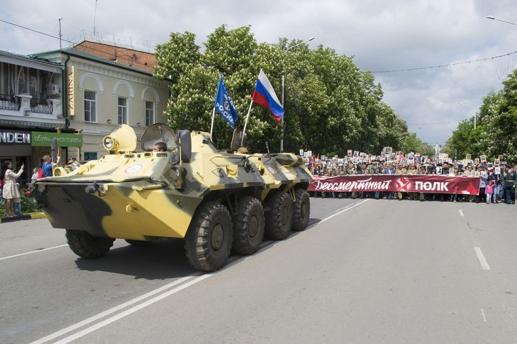 Бессмертный полк прошел по Новочеркасску