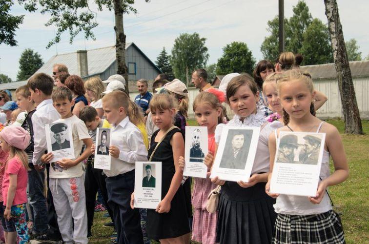 День партизан и подпольщиков в Дубровке