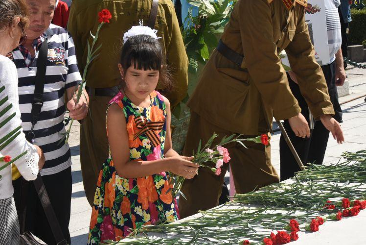 В Харбине отметили 72 годовщину окончания Второй мировой войны.